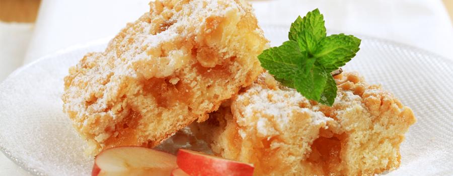 Вълшебен ябълков сладкиш с аромат и вкус на орехи и канела
